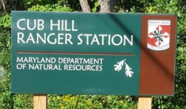 Cub Hill Ranger Station sign