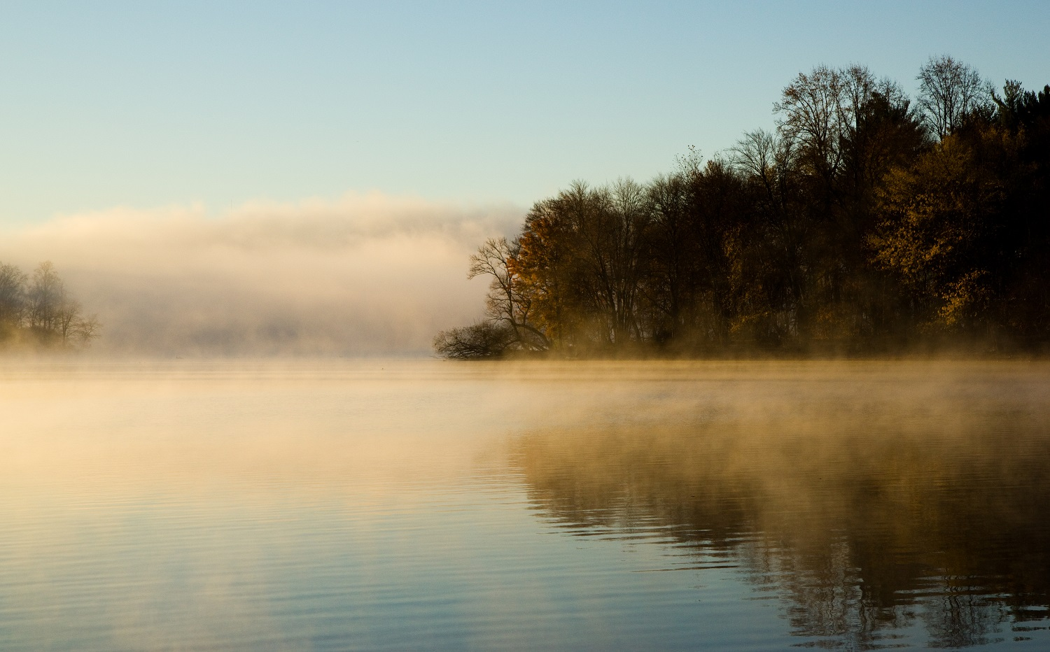 imabe of loch raven reservoir at dawn-Mike from twentyfourseven-flickr