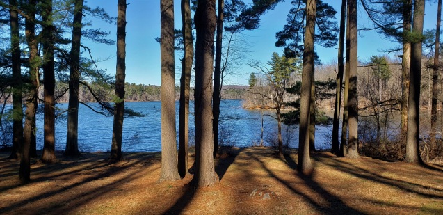 View of Loch Raven Reservoir, late afternoon in early January, 2021. Vic Sanborn