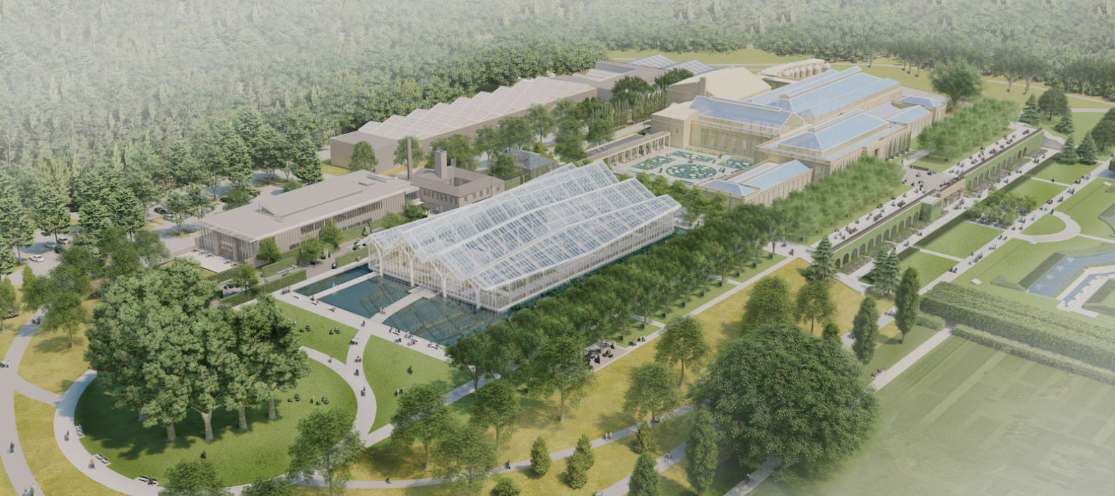 Illustration of Longwood Garden Reimagined: A New Garden Experience