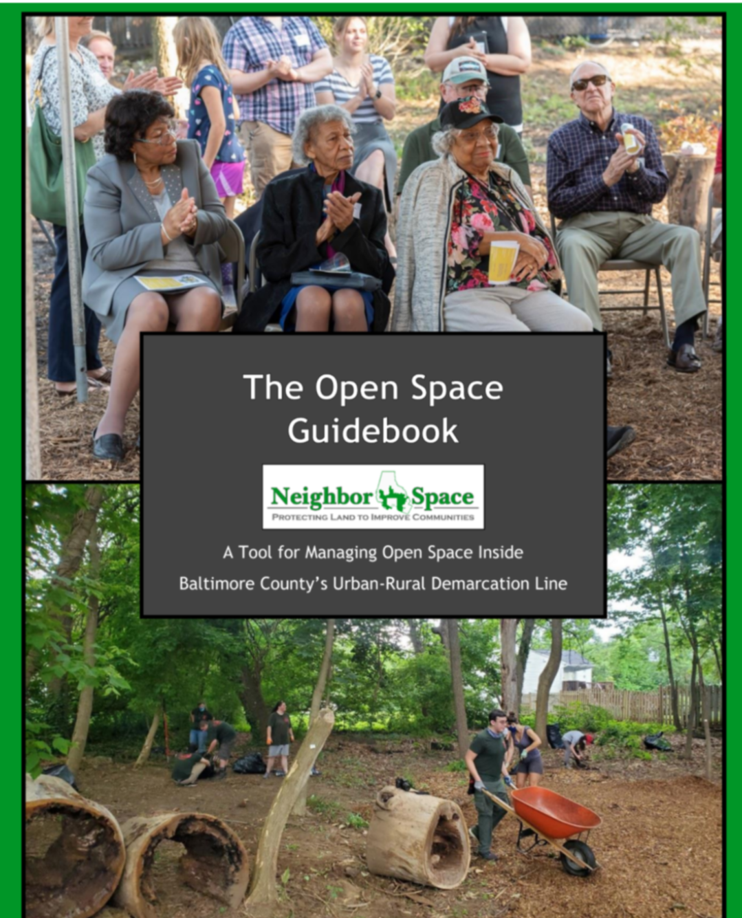 Image of the Guidebook's cover by Neighbor Space