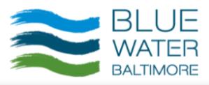 Blue Water Baltimore logo